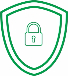 icon of a security shield and padlock