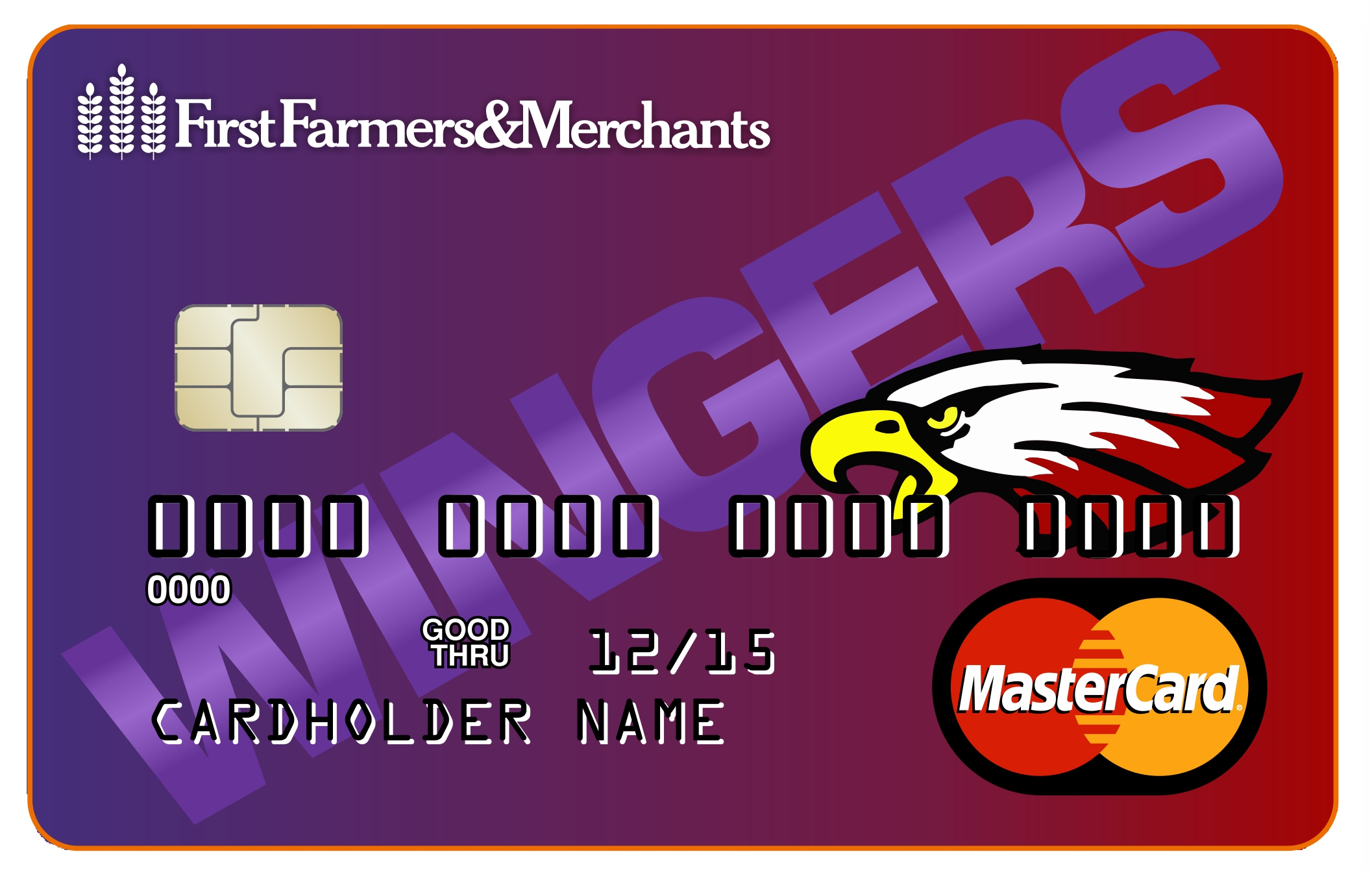 image of Red Wing Wingers debit card