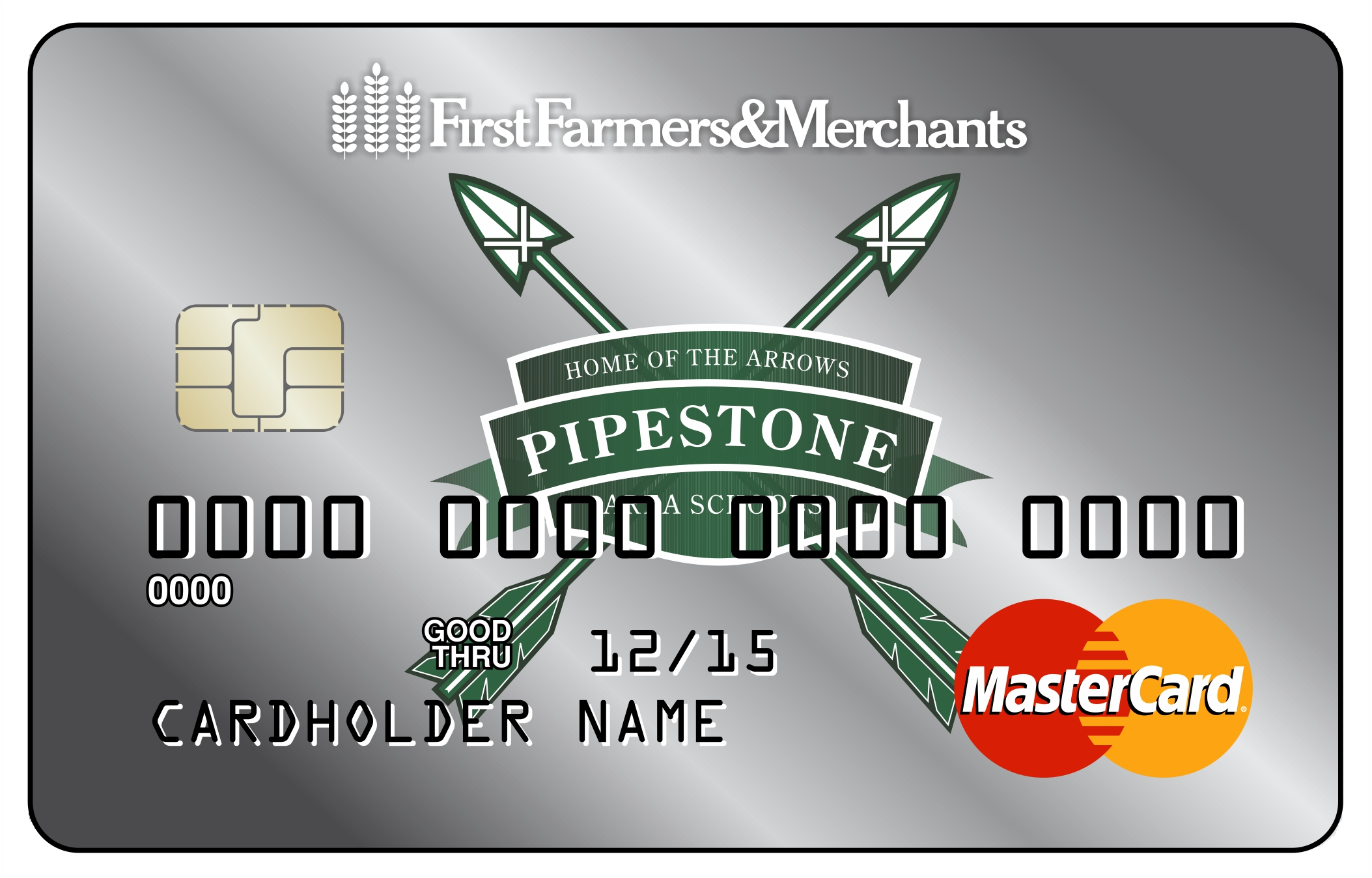 Image of Pipestone Arrows debit card
